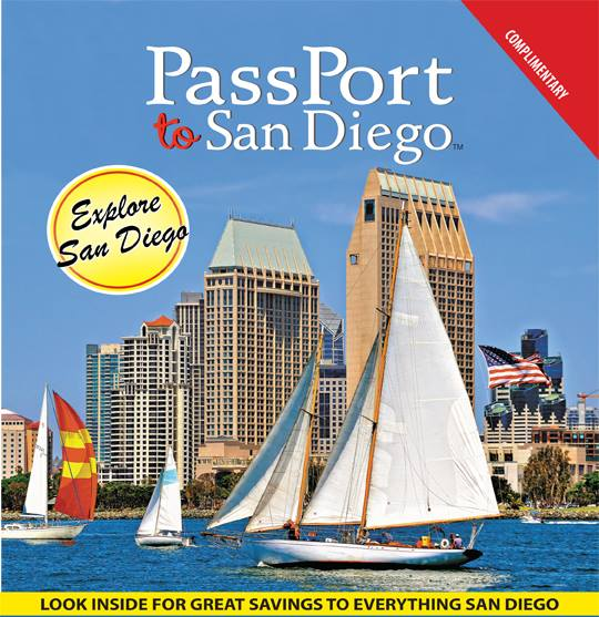 Passport to San Diego is a print ad online guide featuring sites and activities in America's Greatest City.